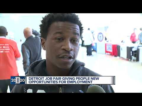 Detroit job fair giving people new opportunities for employment