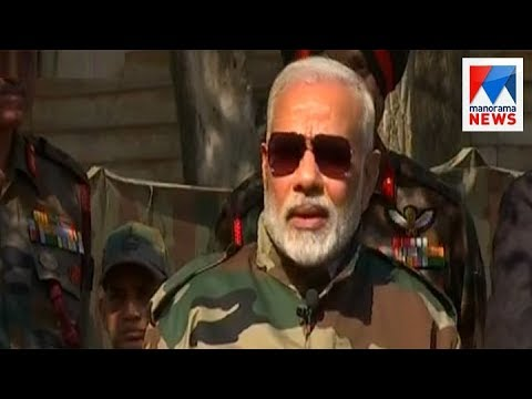 Prime minister celebrate Diwali with soldiers at border | Manorama News