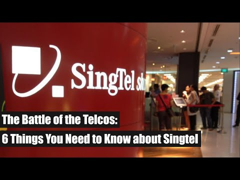 The Battle Of The Telcos - Singtel
