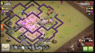 Clash of Clans 3 staring the number one base in clan wars