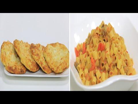 لحمة بالحمص والبطاطس - مكرونة بصوص الباذنجان: على قد الأيد حلقة كاملة