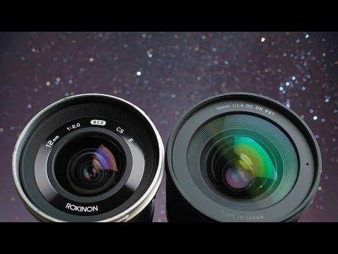 Sigma 16mm Vs Rokinon Astrophotography