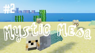 THE MERWOLF - MYSTIC MESA MODDED MINECRAFT (EP.2)
