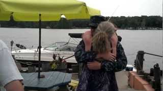 US Navy Sailor Returning Home - Surprising Mother