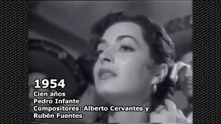 Biggest music hits in Mexico by year (1944-2017)