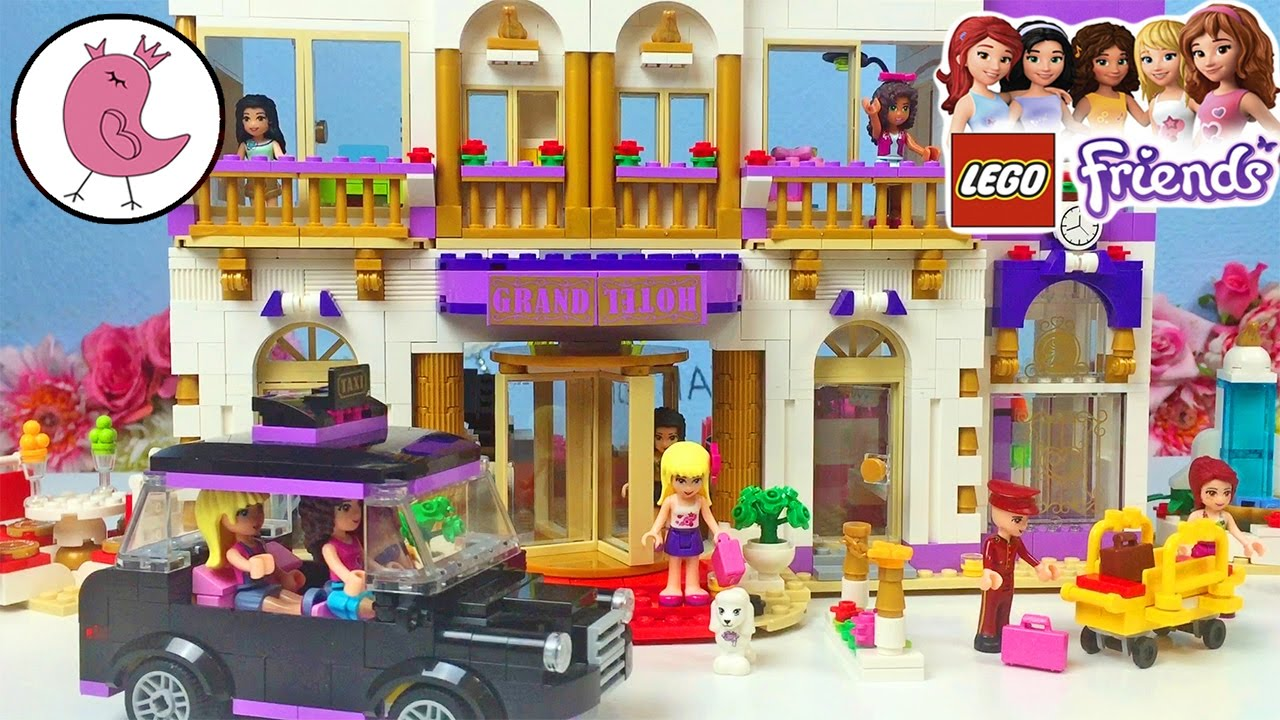 Lego Disney Friends 41101 Heartlake Grand Hotel - Lego Speed Build .