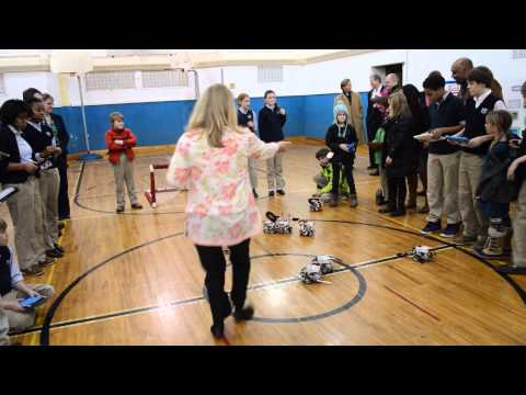 Robot Soccer with Parents