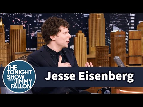 Jesse Eisenberg Is the Batman v Superman Spotter