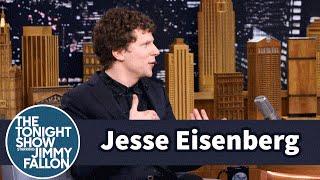 Jesse Eisenberg Is the Batman v Superman Spotter