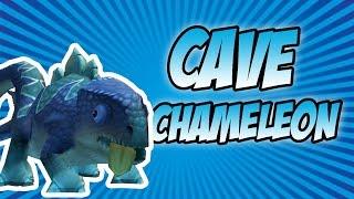 Wizard101: Cave Chameleon Pet Showcase