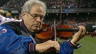 NL WC: Perlman performs anthem at Citi Field