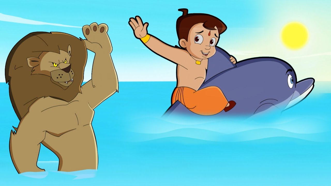 Chhota Bheem -  Mysterious Underwater Creature | Summer Special Video | Funny Kids Video