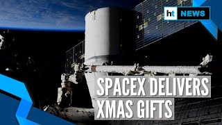 SpaceX's Dragon delivers Christmas gifts to International Space Station