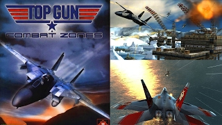 TOP GUN: COMBAT ZONES - Begin Gameplay Gamecube HD