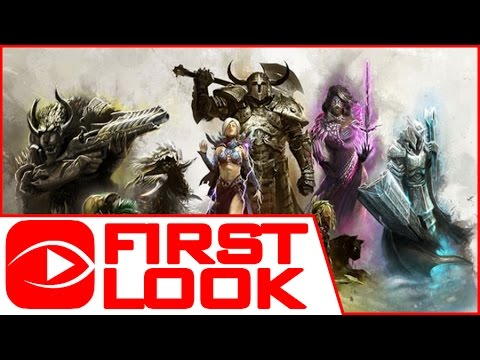 Guild Wars 2 (Free To Play) – Gameplay First Look