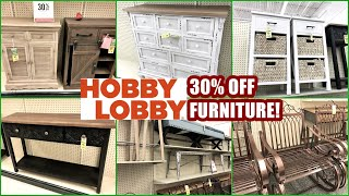 HOBBY LOBBY FURNITURE 30% OFF! SHOP WITH ME 2021