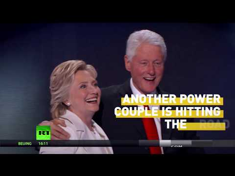 Forget Jay & Bey, the Clintons are on tour and coming to your city