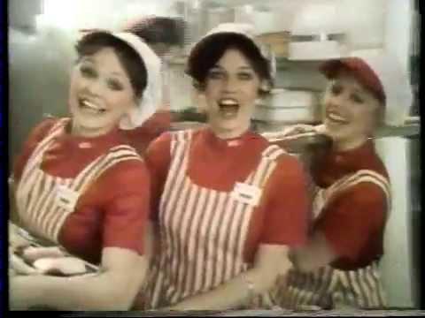 Debra Clinger 1978 Kentucky Fried Chicken Commercial