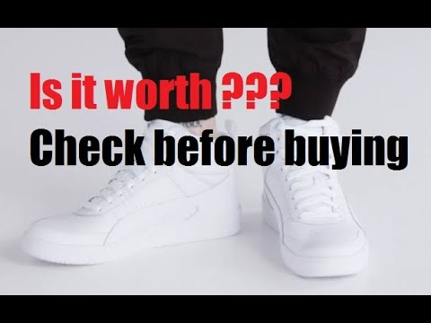 Puma Rebound Street V2 Sneakers for men Unboxing and Review - YouTube