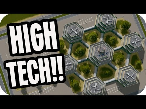 Cities: Skylines Green Cities ▶HIGH TECH BUSINESS◀ Cities Skylines Green Cities DLC #62