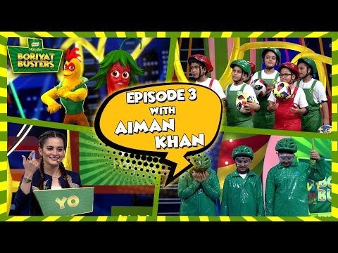 Knorr Noodles Boriyat Busters Season 2 - Episode 3 with Aiman Khan