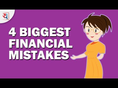 4 Biggest Financial Mistakes | Money Mistakes to Avoid | Financial Planning for Dummies
