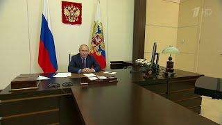 Владимир Путин о ситуации с коронавирусом в России может качнуться в любую сторону