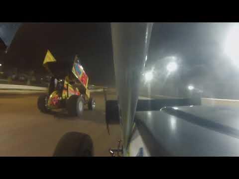 Selinsgrove speedway   7-8-18   PASS 305 sprintcar feature win!