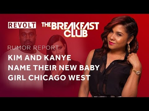 Kim & Kanye named their new baby girl Chicago West | Rumor Report