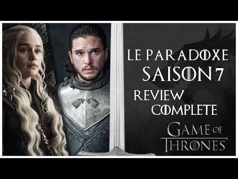 L'Instant 'Game Of Thrones' : La SAISON 7 est-elle DÉCEVANTE ? Le Paradoxe (Review COMPLÈTE) !