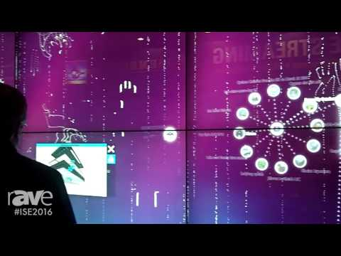 ISE 2016: MultiTaction Shows Their MultiTaction Hybrid Wall