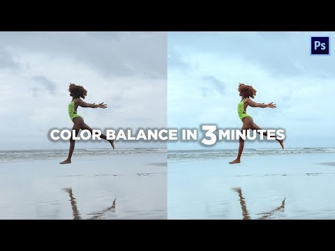 How To Colorgrade With Color Balance | Photoshop Tutorial thumbnail