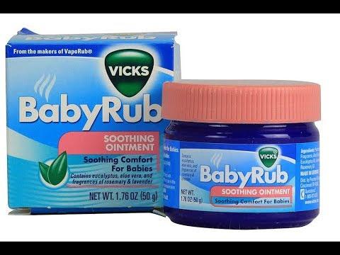 Big vaporub para bebes