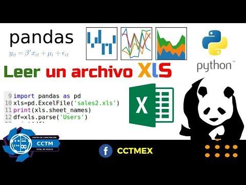 Leer un archivo xls pandas python muy b sico youtube - Librerias python ...