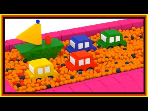 Thumbnail: BALL PIT PARTY! - Boat Construction - Cartoon Cars Playground! Car Cartoons for Kids