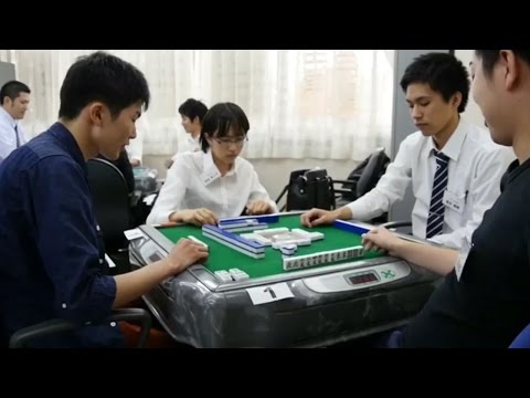 Japanese students place their futures on the gambling table