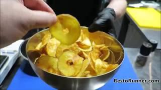 Как сделать вкусные чипсы за 3 минуты