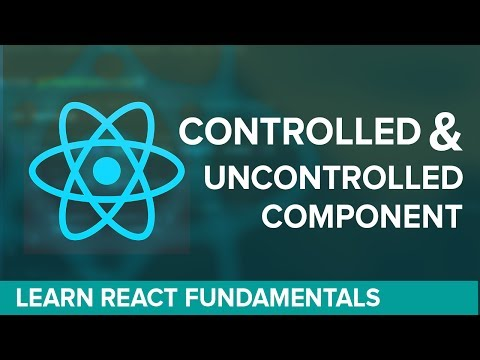 UnControlled and Controlled Component ReactJS - Hindi / Urdu Tutorial