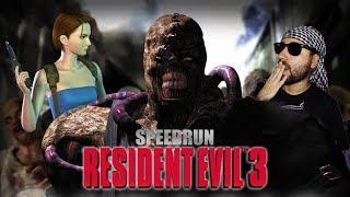 Resident Evil 3: Nemesis  (Speedrun Any%) Competencia WolfDNC vs Caradechiste