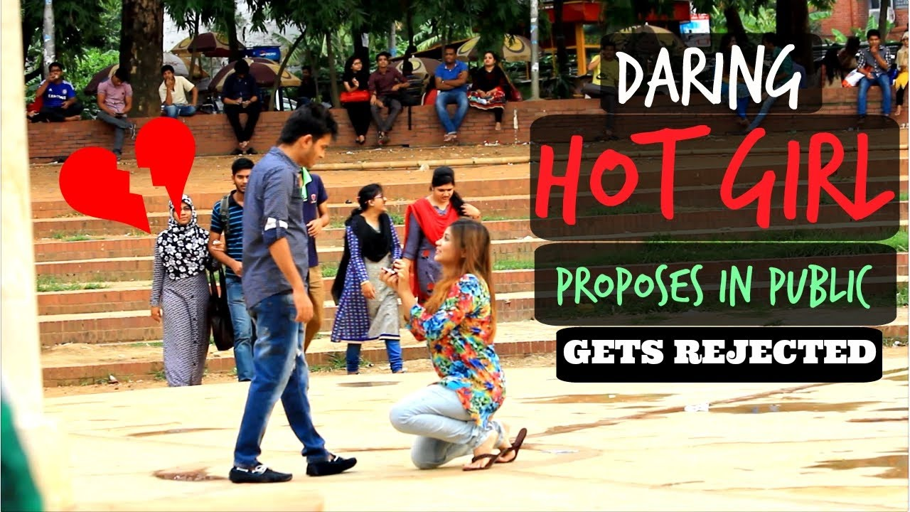 girl proposes to her boyfriend want meet