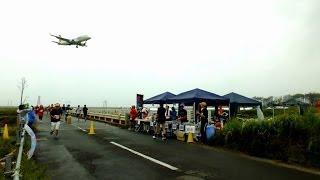 第2回 パラカップ仙台 in 仙台空港 ランナーと旅客機 その7