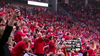 Jeremy Lin alley-oop to Howard brings the house down Rockets vs Trail Blazers
