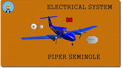 PIPER SEMINOLE PA 44-180 POH| ELECTRICAL SYSTEM REVIEW