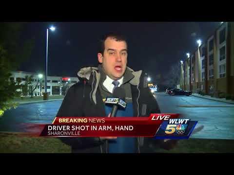 Woman reports being shot on Cincinnati highway