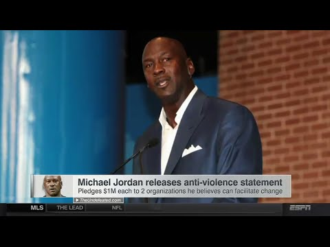 Michael Jordan releases statement on Kobe Bryant's death