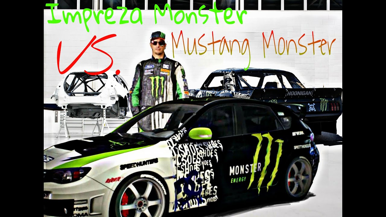 Need For Speed Monster Cars Drift Duel Impreza Vs Mustang