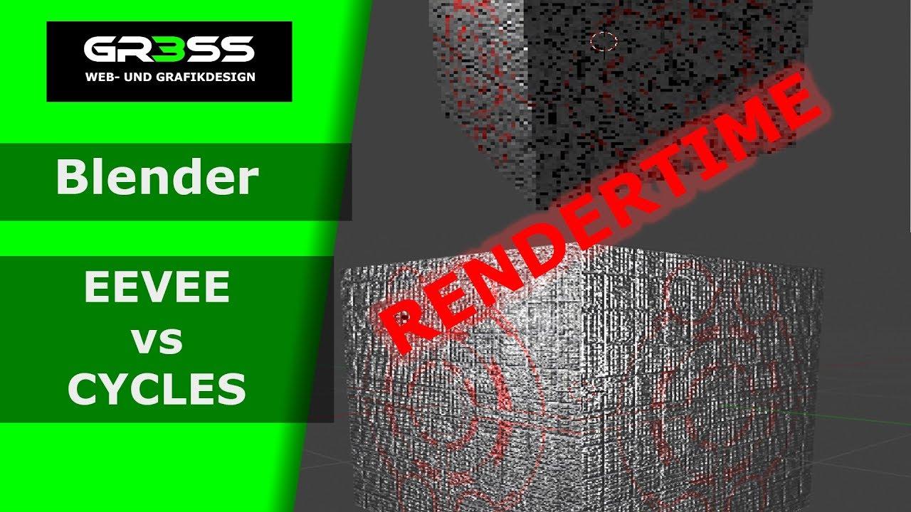 Blender 2 80 EEVEE vs Blender 2 79 CYCLES Rendertime - Most Popular