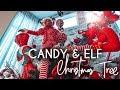 Christmas Elf Candy Tree Decor | Michael's Haul