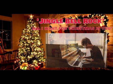 Jingle Bell Rock / All I Want For Christmas Is You - Tony Ann (Piano Cover)