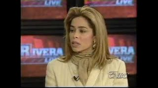 Faye Resnick Talks OJ Simpson on Geraldo; Battles with Defense Attorney